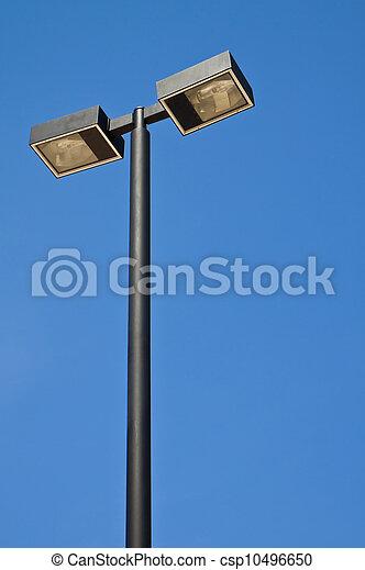 El poste de luz. - csp10496650