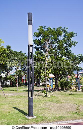 El poste de luz. - csp10496690