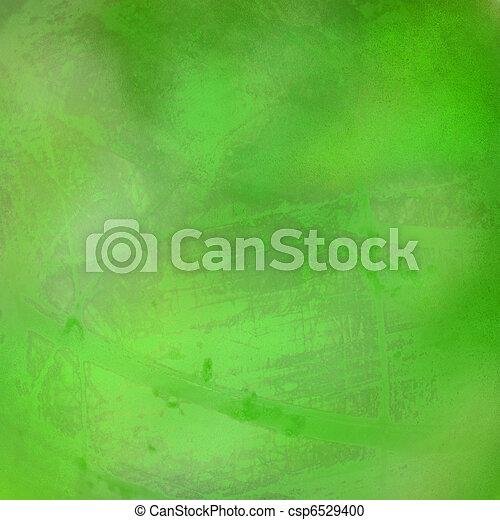 Hierba y luz abstracta en papel - csp6529400