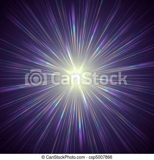 Luz de violeta - csp5007866