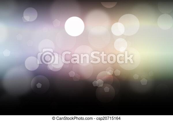 luzes, bokeh, defocused - csp20715164