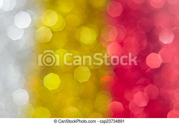 luzes, bokeh, defocused - csp23734891