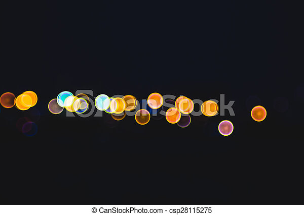 luzes, bokeh - csp28115275