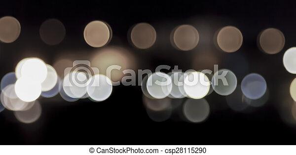 luzes, bokeh - csp28115290