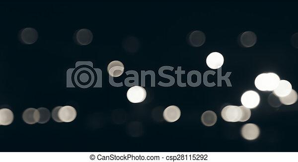 luzes, bokeh - csp28115292