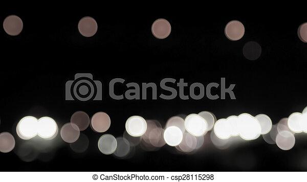 luzes, bokeh - csp28115298