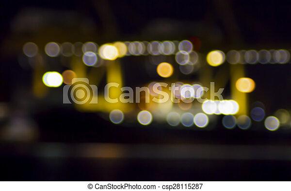 luzes, bokeh - csp28115287