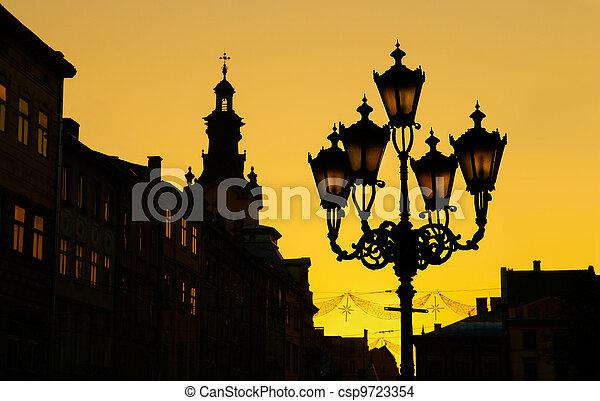 Lviv (Lvov, Lwow), Ukraine - csp9723354