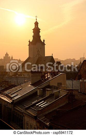 Lviv, Ukraine - csp5941172
