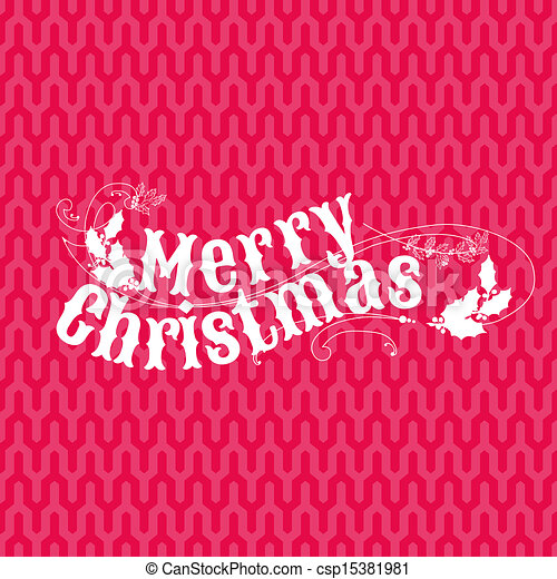 lykønskning, -, invitation, vektor, retro, card christmas - csp15381981