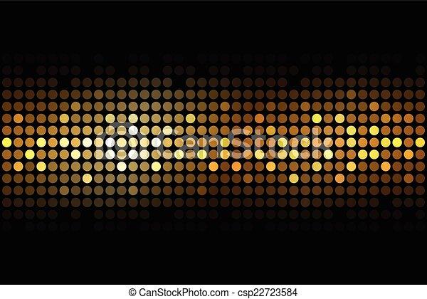 Lyse, svart, guld, bakgrund. Lyse, vektor, svart fond ...
