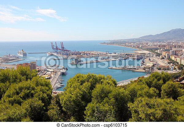 Málaga - csp6103715