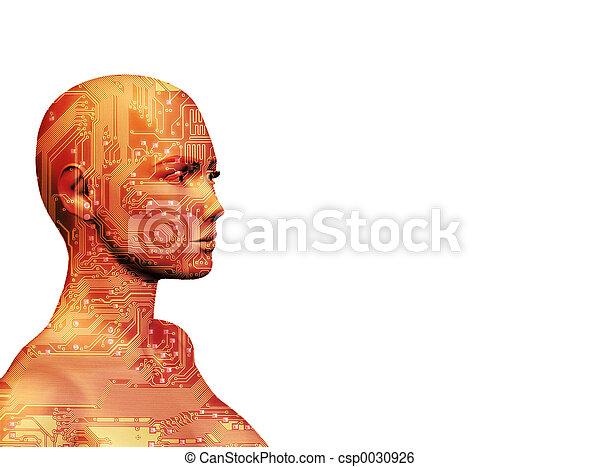 máquina, ii, human - csp0030926