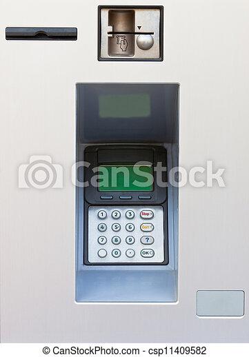 máquina, operação bancária, atm - csp11409582