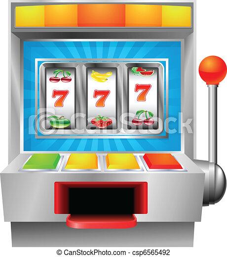 Una máquina de frutas - csp6565492