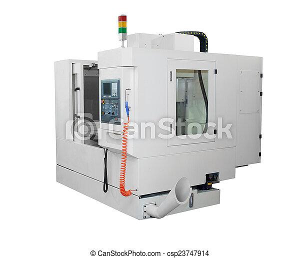 CNC lathe Machine - csp23747914