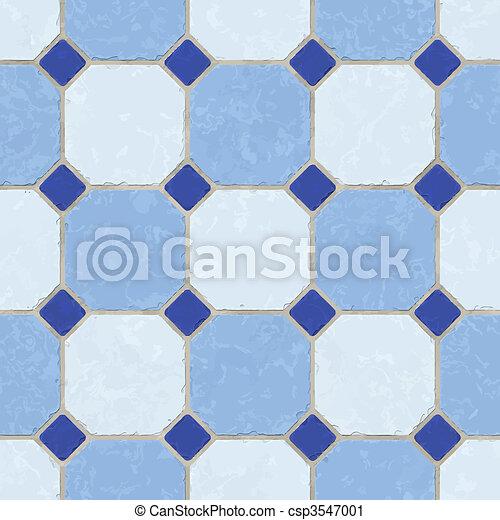 Piso azulado - csp3547001