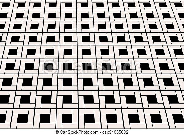 Planta azulejo de mármol - csp34065632