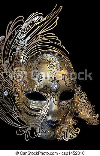 Máscara de carnaval - csp1452310