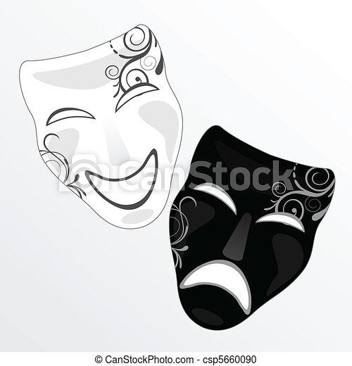 Máscara de carnaval - csp5660090