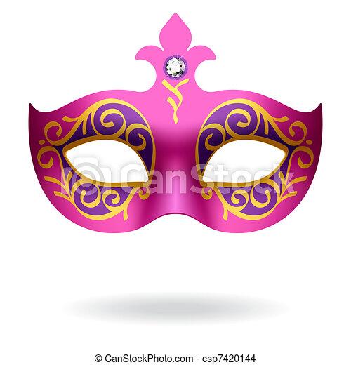 Máscara de carnaval - csp7420144
