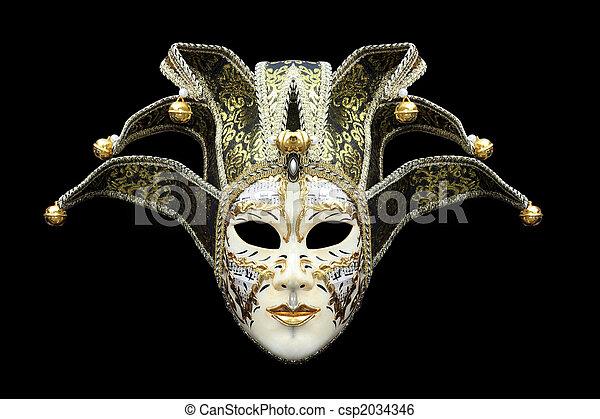 Máscara de carnaval - csp2034346