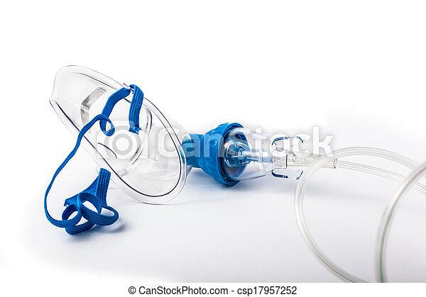máscara de respiración - csp17957252