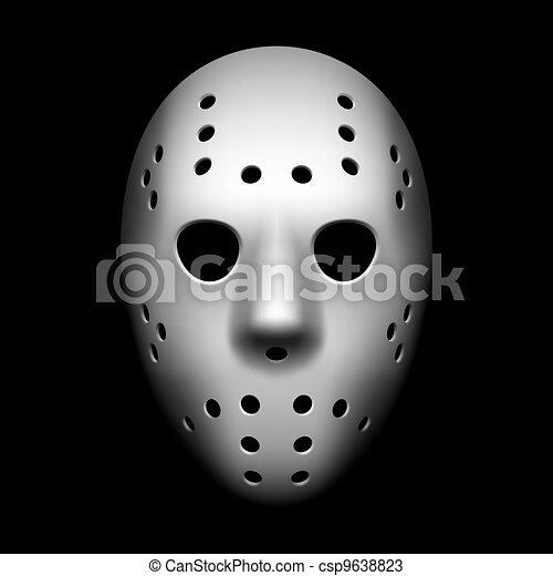 Máscara de hockey - csp9638823