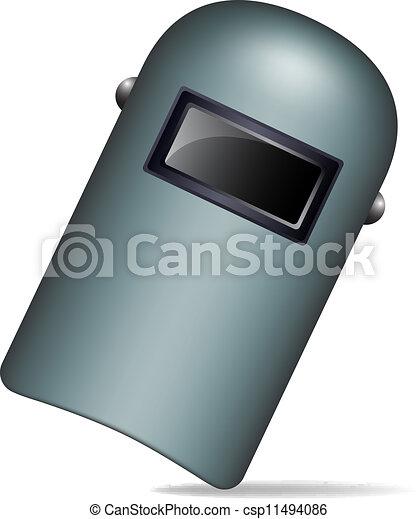Máscara de soldadura protectora - csp11494086