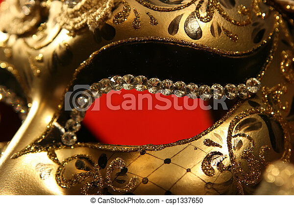 Máscara veneciana - csp1337650