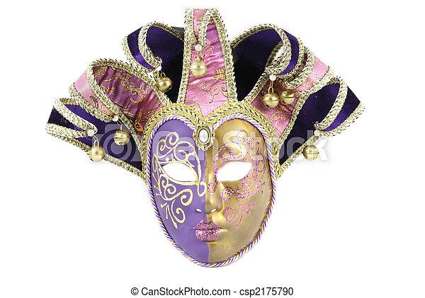 Máscara veneciana - csp2175790