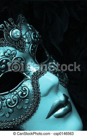 Máscara veneciana - csp0146563