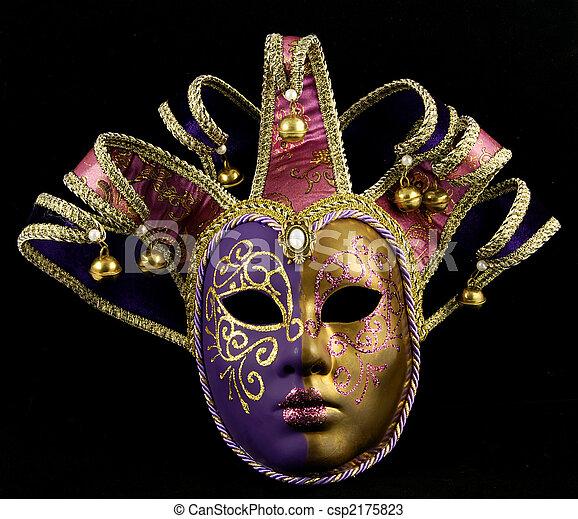 Máscara veneciana - csp2175823