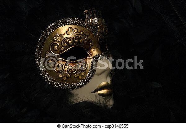 Máscara veneciana - csp0146555