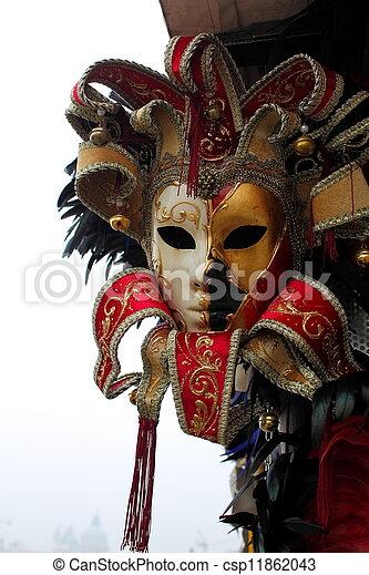 Máscara veneciana - csp11862043