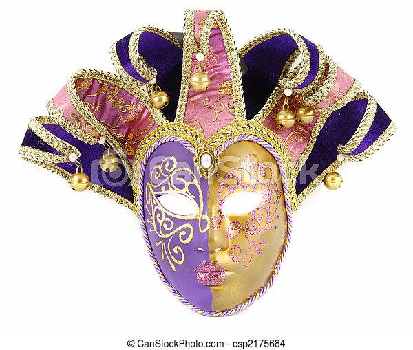Máscara veneciana - csp2175684
