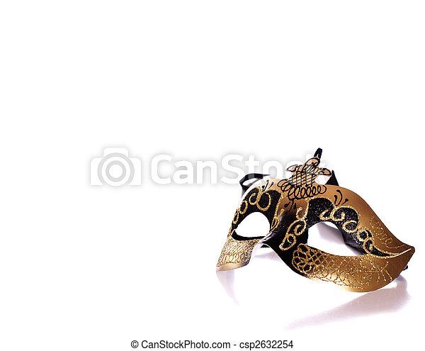 Máscara veneciana - csp2632254