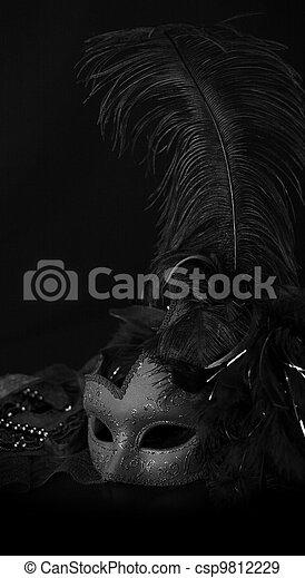 Máscara veneciana - csp9812229