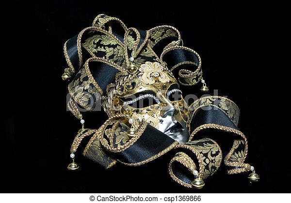 Máscara veneciana - csp1369866