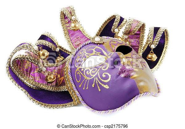 Máscara veneciana - csp2175796