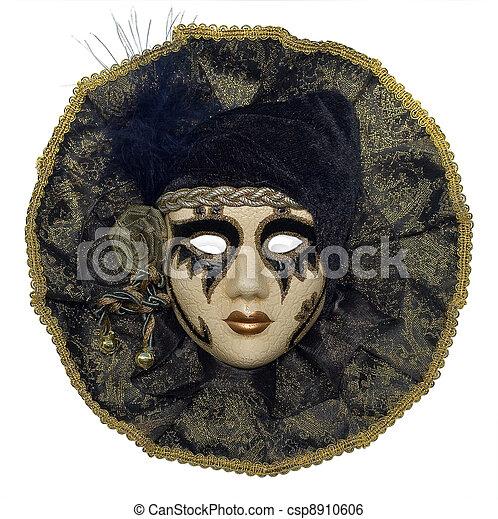 Máscara veneciana - csp8910606