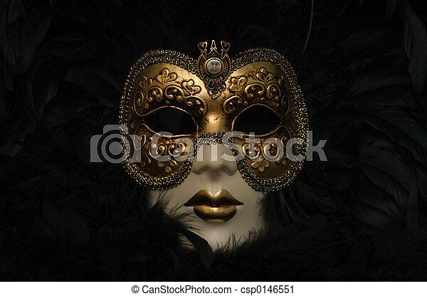 Máscara veneciana - csp0146551