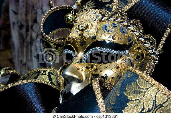 Máscara veneciana - csp1313861