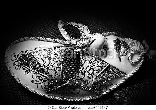Máscara veneciana - csp3415147