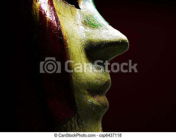 Máscara veneciana - csp6437118