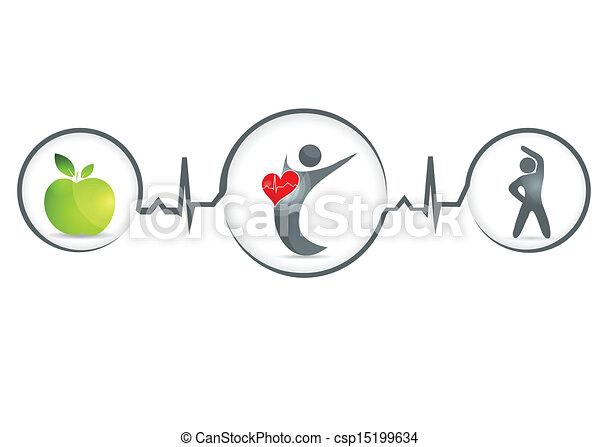 mänsklig, hälsosam - csp15199634