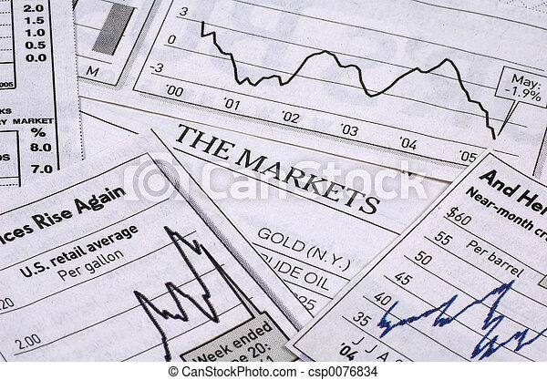 Die Märkte - csp0076834