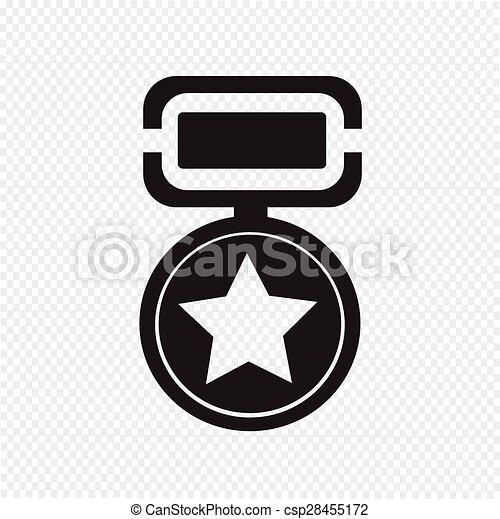 médaille, icône - csp28455172