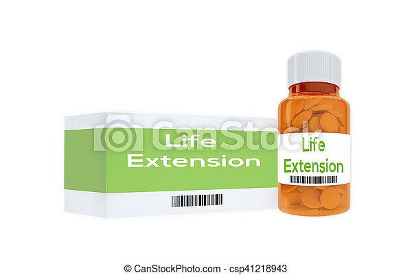 médecine, vie, concept, extension - csp41218943