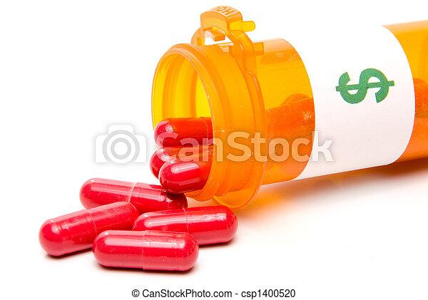 médicament, prescription - csp1400520